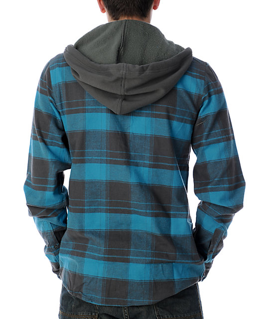Fox Chase Charcoal Flannel Shirt