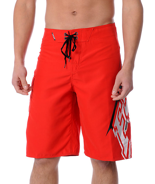 Fox Circuit Red Board Shorts