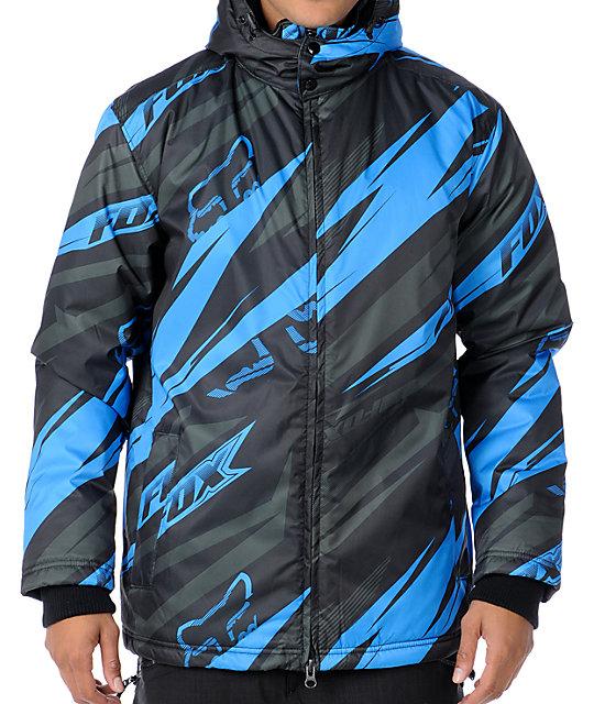 Fox Control Black Poly Winter Jacket