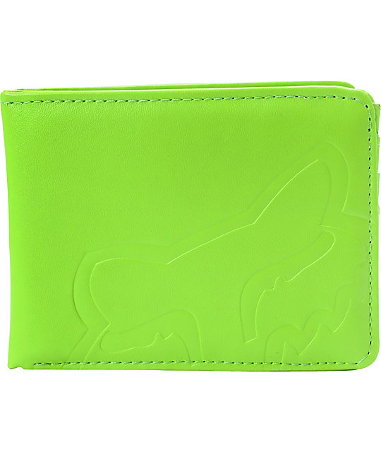 Fox Core Green Bifold Wallet