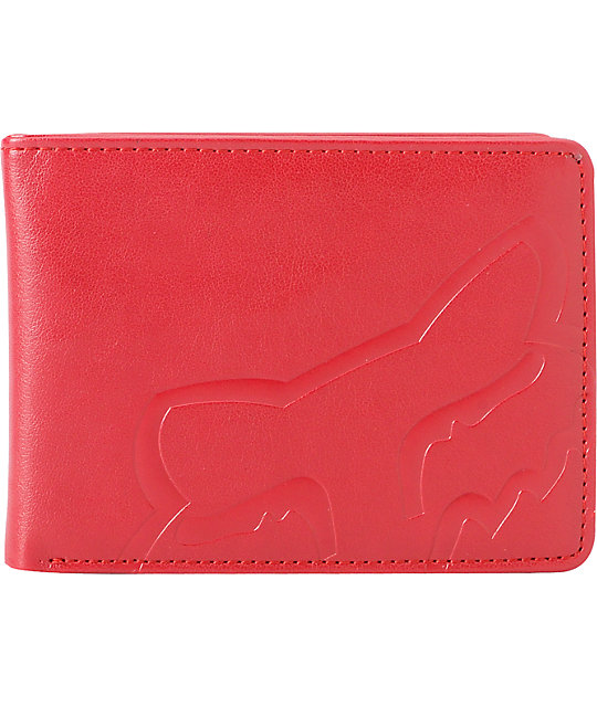 Fox Core Red Bifold Wallet