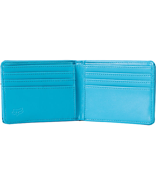 Fox Core Turquoise Bifold Wallet