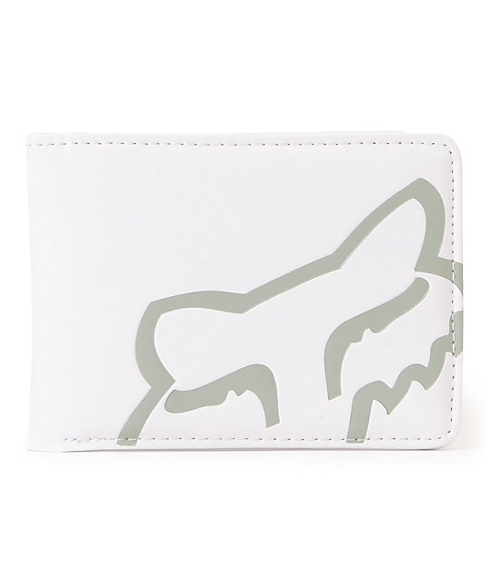 Fox Core White Bifold Wallet