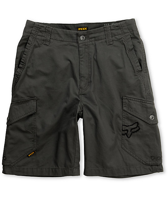 Fox Cryptic Grey Cargo Shorts