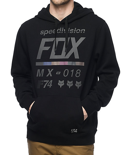 Fox District 2 Black Pullover Hoodie