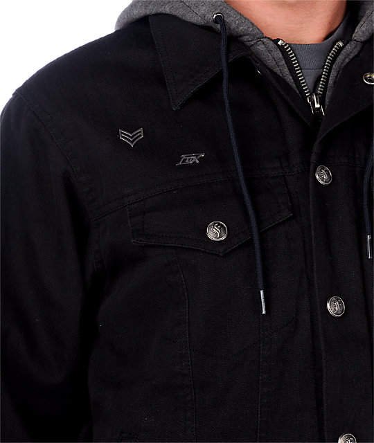 Fox Dunkirk Jean Black Jacket