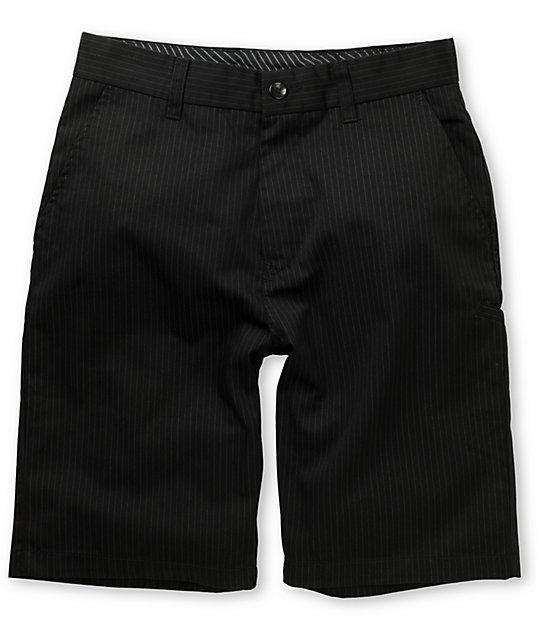 Fox Essex Black Pinstripe Shorts