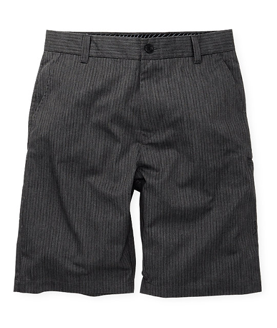 Fox Essex Pinstripe Charcoal Shorts