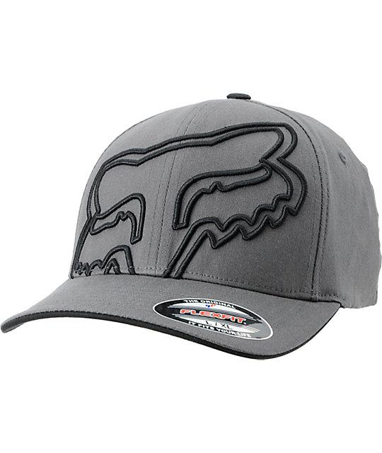 Fox Everywhere Charcoal Grey Flexfit Hat