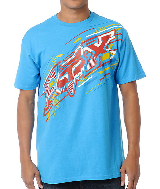 Fox Flare Turquoise T-Shirt