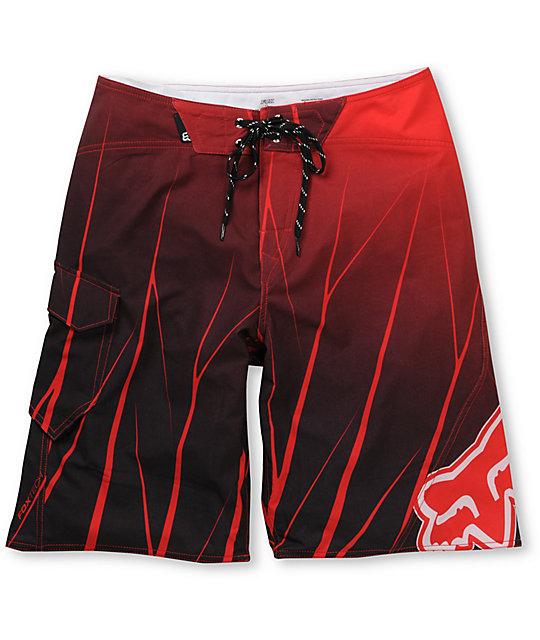 Fox Future 21 Red Board Shorts
