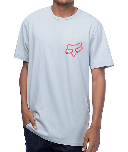 Fox Glassy Eyed Grey T-Shirt