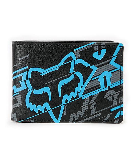 Fox Hacker Black Bifold Wallet