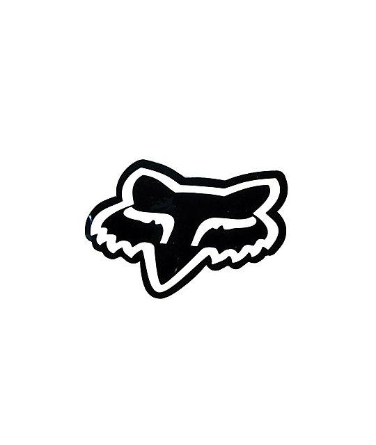 Fox Head Sticker