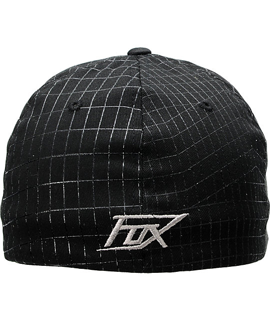 Fox In Perspective Black Flexfit Hat