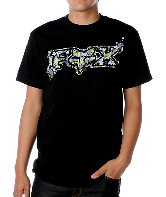 Fox Jawbreaker Black T-Shirt