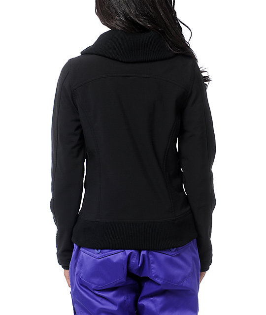 Fox Kylie Tech Series Black Fleece Jacket