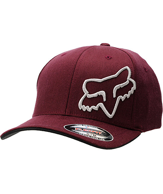 Fox Muggin Burgundy FlexFit Hat