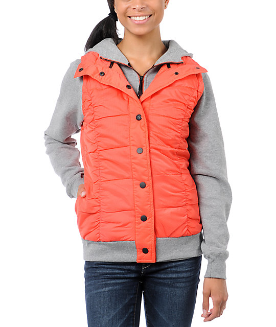 Fox Network Orange Vest & Hoodie
