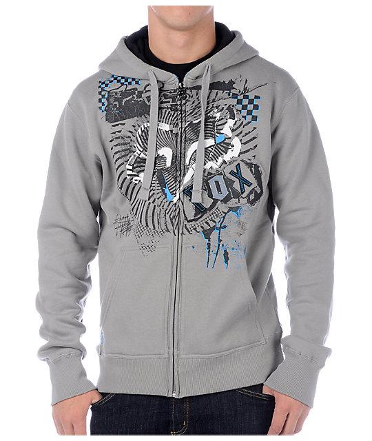 Fox New Waves Grey Hoodie