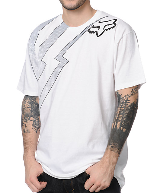 Fox Preverb White T-Shirt