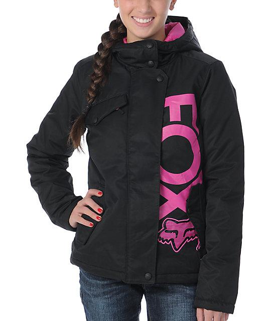 Fox Reflex Black & Pink Jacket