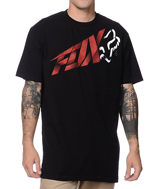 Fox Riptide Black T-Shirt