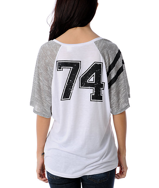 Fox Safety White Football T-Shirt