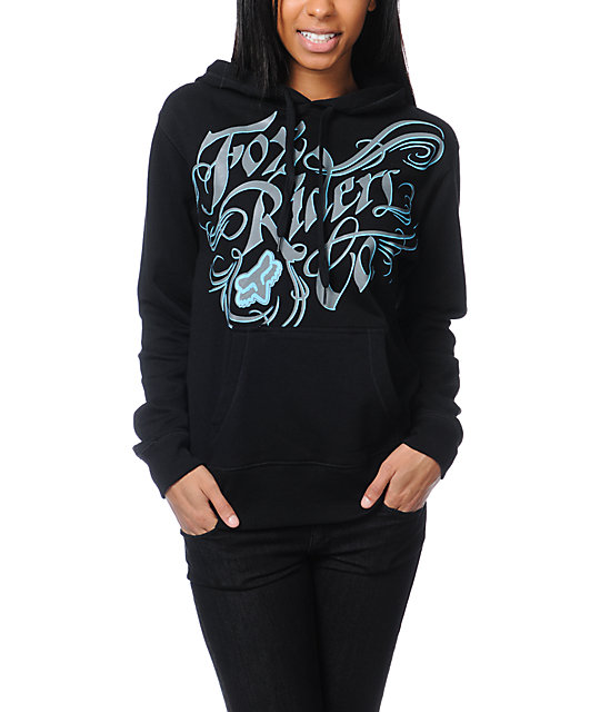 Fox Savvy Black Pullover Hoodie
