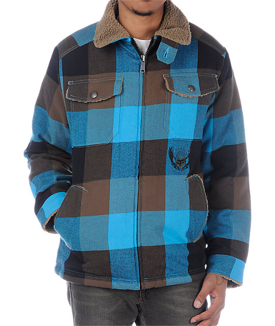 Fox Spaceland Blue Jacket