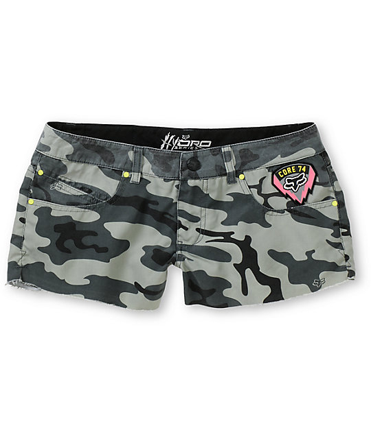 Fox Special Ops Hydro Camo Print Board Shorts