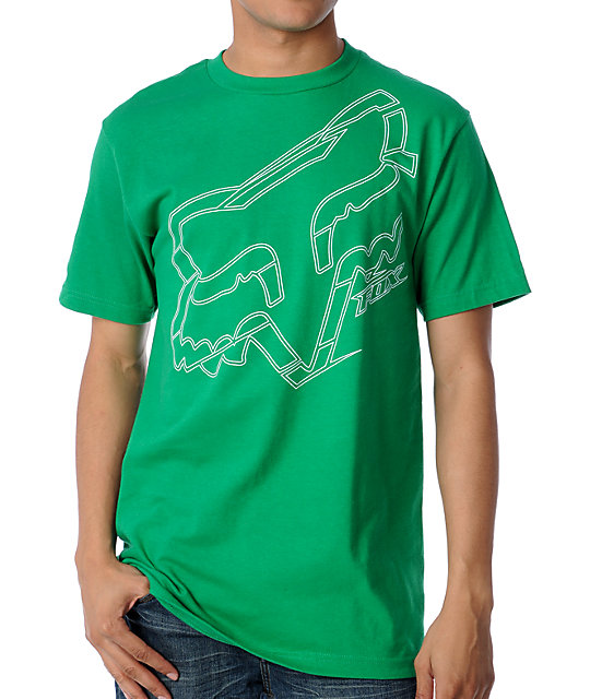 Fox Stroke Green T-Shirt