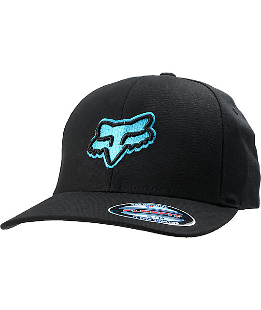 Fox Suprano Black & Blue Flexfit Hat