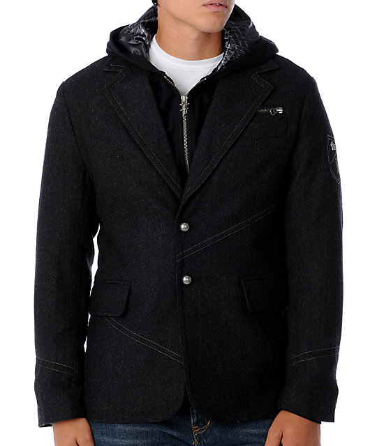 Fox Swagger Black Blazer Jacket