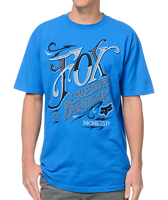 Fox Tavern Blue T-Shirt