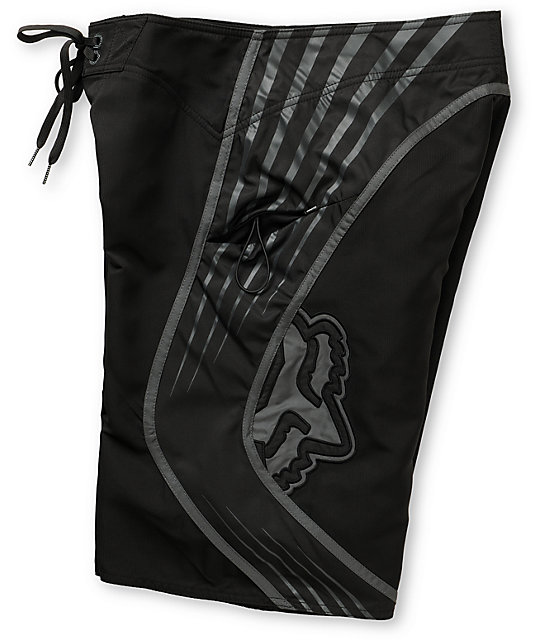 Fox Top Shelf Black Board Shorts