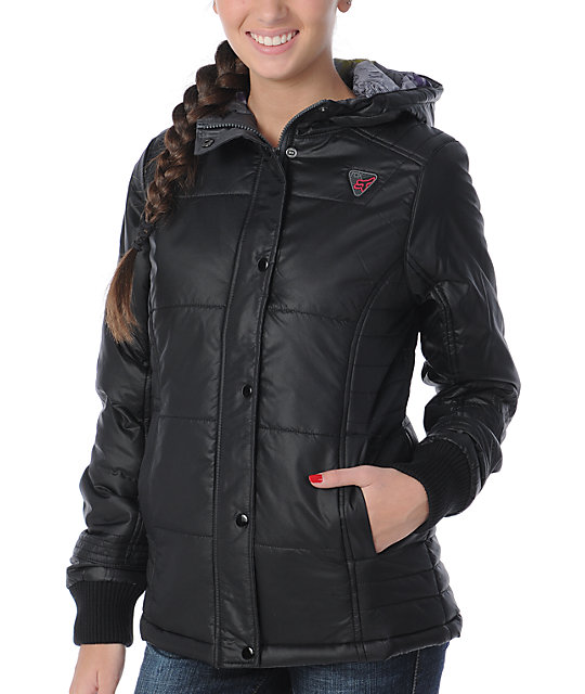 Fox Top Shelf Black Puffer Jacket