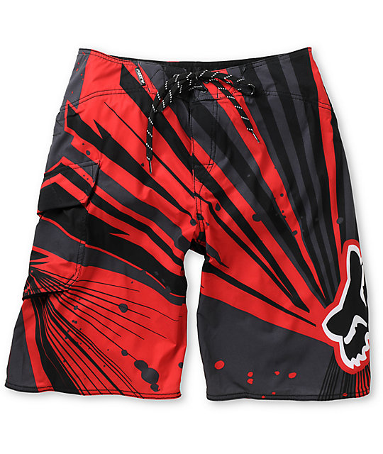 Fox Undertow Red Board Shorts