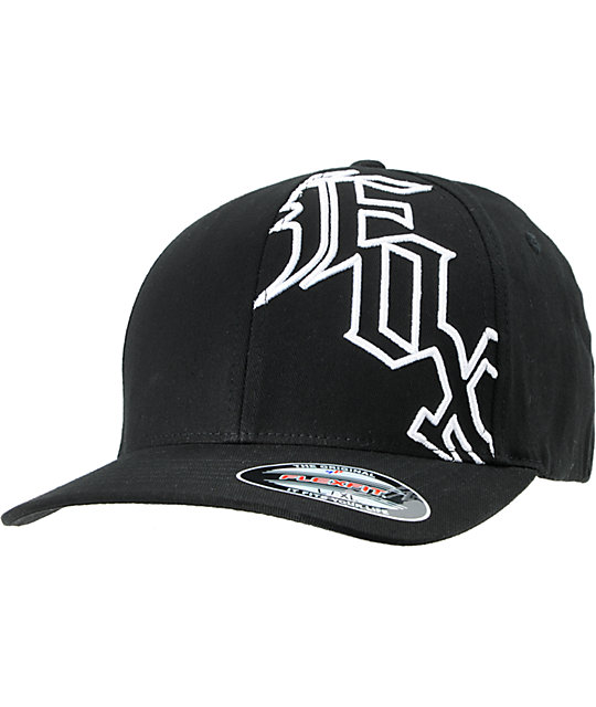 Fox Upscale Black Flexfit Hat