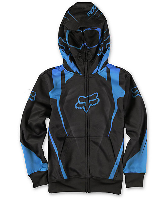 Fox Vibron Face Mask Zip Up Hoodie