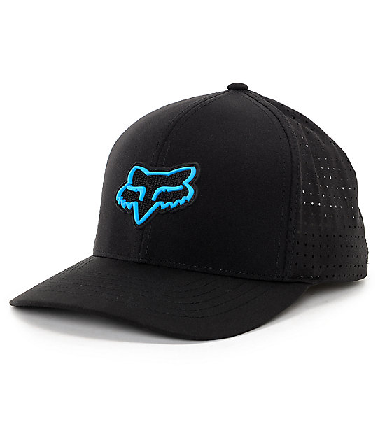 Fox Wallace Black & Blue Flexfit Hat