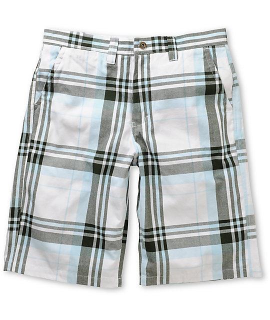 Free World Bayside Plaid Shorts