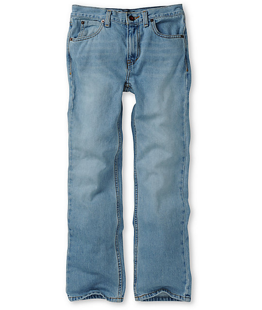 Free World Boys Messenger Light Blue Skinny Jeans