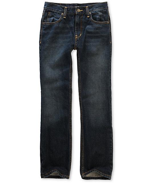 Free World Boys Messenger Rinse Tint Skinny Jeans