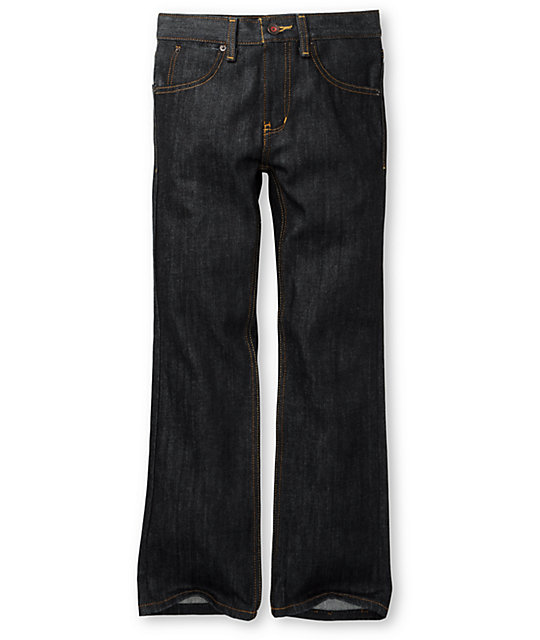 Free World Boys Night Train Raw Regular Fit Jeans