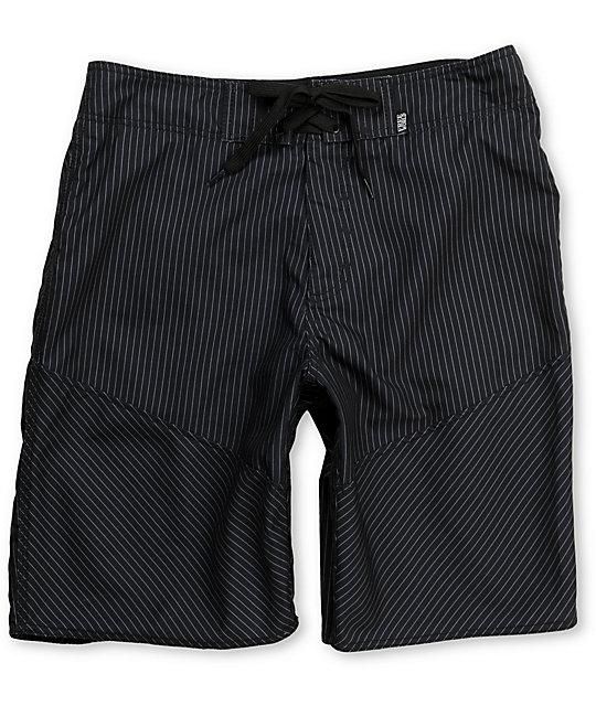 Free World Capone Black Board Shorts