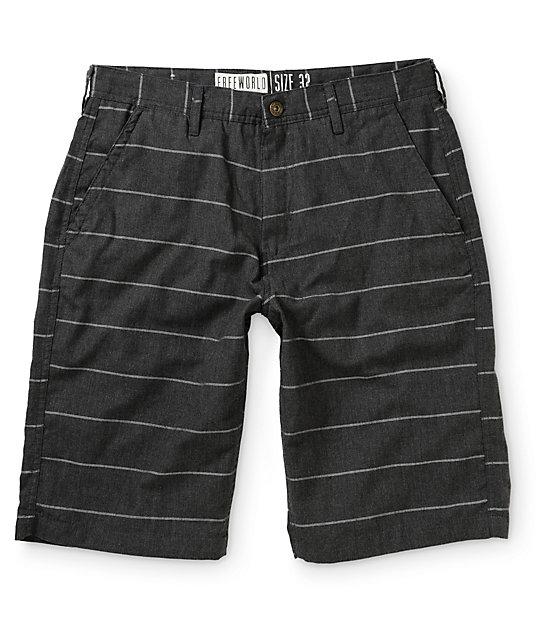 Free World Chas Stripe Shorts