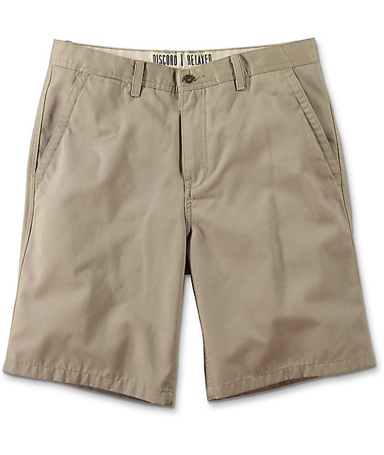 World Discord Khaki Chino Shorts
