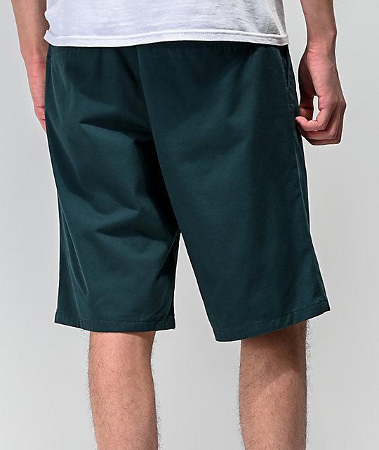 World Discord Chinos Verde Free Shorts En Azulado PiwkXZTOu
