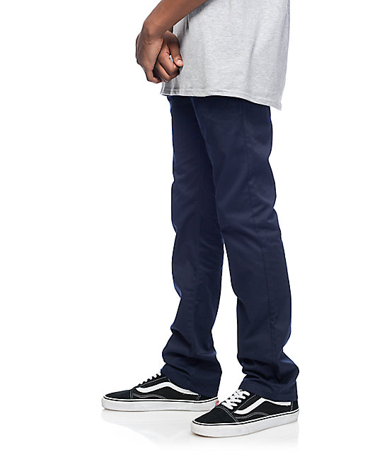 Free World Drifter Navy Chino Pants